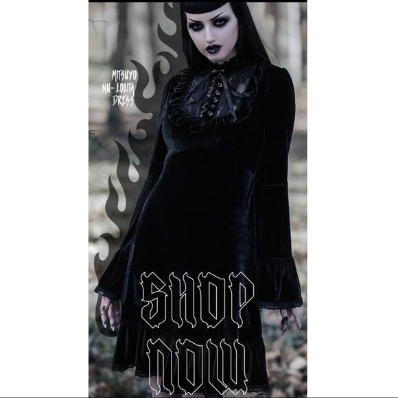 0645e9062d Killstar Mitsuyo Gothic Nu-Lolita Dress